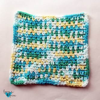 Easy Crochet Dishcloth Loops Love Crochet