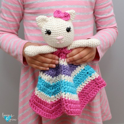 Crochet Kitty Lovey
