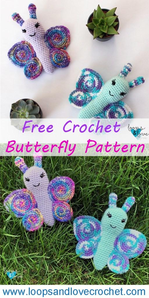 Butterfly Amigurumi Pinterest