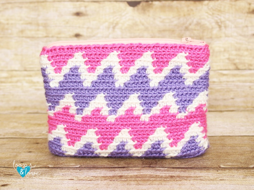 Chevron Tapestry Crochet Bag