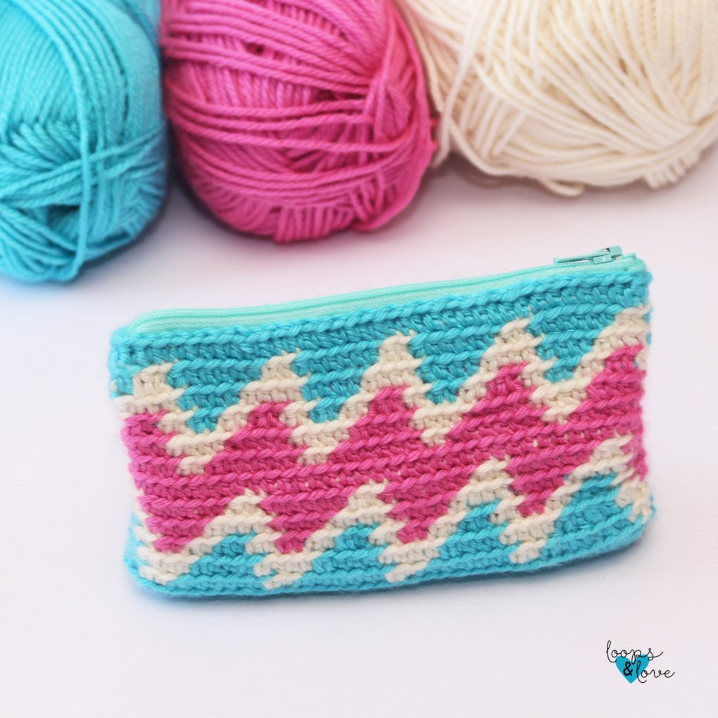 Tapestry Crochet Bag Chevron