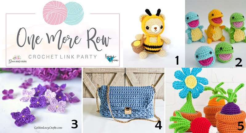 One More Row Link Party #7 top 5