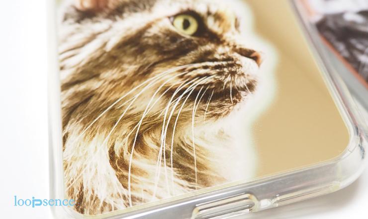 ループセンス、猫のオリジナルミラーケース