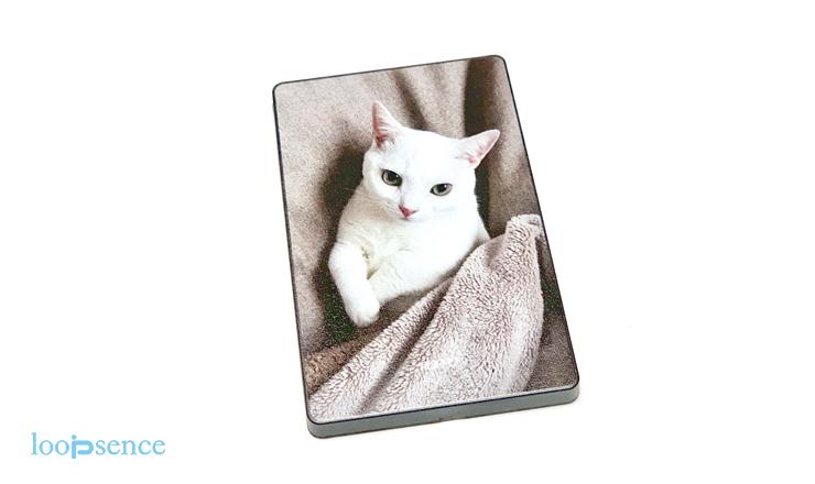 猫のオーダースライドカードミラー