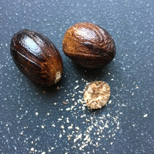 nutmeg for bajan rum punch by loopylocks