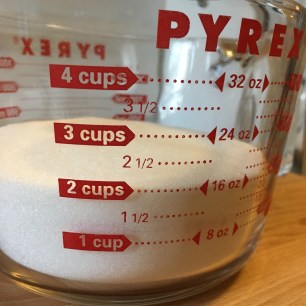 white sugar for simple syrup