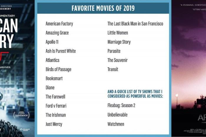 歐巴馬2019年最愛電影