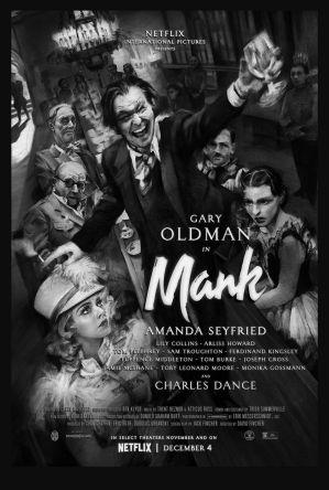 【影評】《曼克》大衛芬奇的從前有個好萊塢