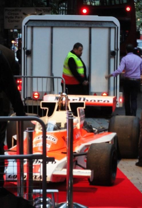 The RUSH F1 car