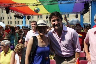 Meeting Federal Liberal Leader Justin Trudeau