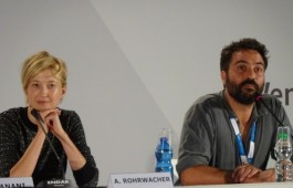 Alba Rohrwacher & Saverio Costanzo