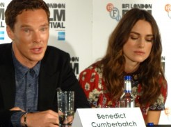 The Imitation Game: Benedict Cumberbatch & Keira Knightley