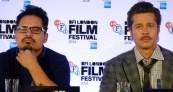 Fury: Michael Pena & Brad Pitt