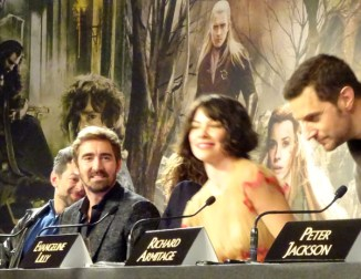 Andy Serkis, Lee Pace, Evangeline Lilly & Richard Armitage