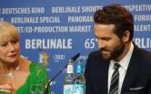 Helen Mirren & Ryan Reynolds - Woman in Gold - Berlinale 2015