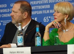 Harvey Weinstein & Helen Mirren- Woman in Gold - Berlinale 2015