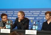 Robert Pattinson, Anton Corbijn & Dane DeHaan - Life - Berlinale 2015