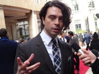 Jameson Empire Awards 2015: Ryan Gage aka Alfrid from The Hobbit