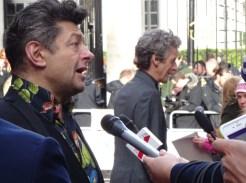 Jameson Empire Awards 2015: Andy Serkis & Peter Capaldi aka Gollum & Doctor Who!