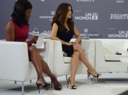 Salma Hayek at He For She panel
