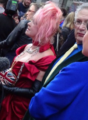 Kinky Boots Opening Night: Cyndi Lauper & Harvey Fierstein