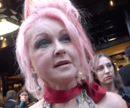 Kinky Boots Opening Night: Cyndi Lauper