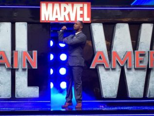 Captain America: Civil War Premiere - Anthony Mackie