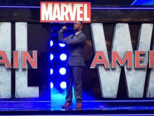 Captain America: Civil War Premiere - Anthony Mackie