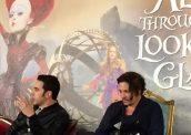 Alice Through Looking Glass Sacha Baron Cohen Johnny Depp