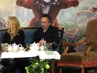 Alice Through Looking Glass Tim Burton
