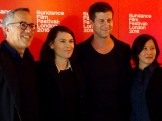Clea DuVall & the Sundance Team
