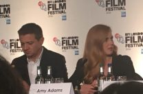 Arrival: Jeremy Renner & Amy Adams