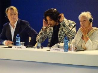 Victoria & Abdul - Eddie Izzard & Ali Fazal & Dame Judi Dench