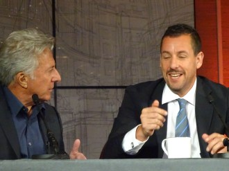 The Meyerowitz Stories (New and Selected): Dustin Hoffman & Adam Sandler