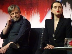 Star Wars: The Last Jedi - Mark Hamill and Daisy Ridley