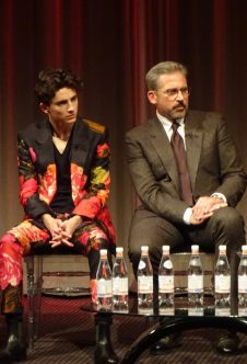 BFI London Film Festival: Beautiful Boy stars Timothee Chalamet & Steve Carell