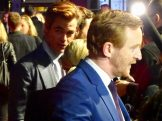 BFI London Film Festival: Outlaw King star Tony Curran & Chris Pine