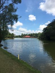 Govenor nine hole 2 facing the Melaka Zoo