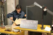 """Asumi Kitahori: """"Second Hand Blender"""" in her temporary kitchen"""