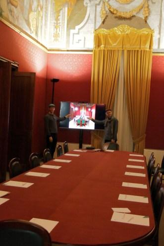 Chris Woebken & Elliott P Montgomery at The Grand Master's Palace