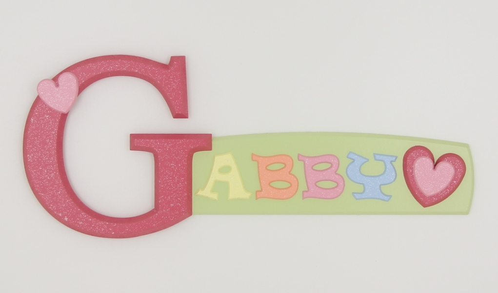 Name Gabby Bubble Letters