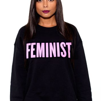 """Emma Watson did it, Beyonce did it, David Cameron did it. You can shout out your feminist pride with a """"Feminist"""" tee or sweater, too."""