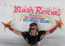slash revival workshop @ MAKER FAIRE 2010