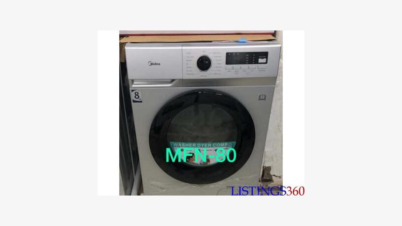 Machine A Laver Et Seche Linge Midea 8kg Automatique Mfn80 12