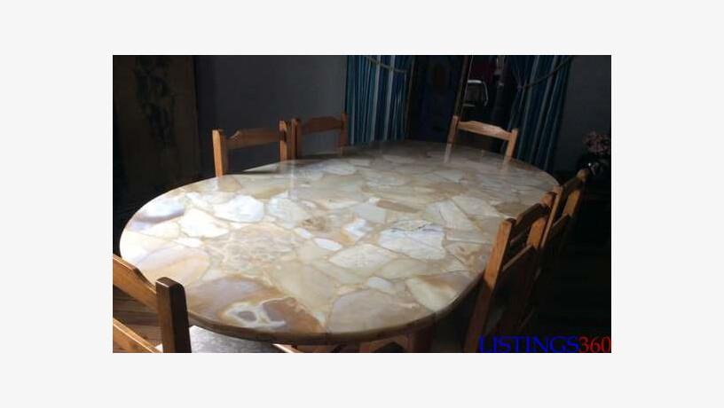Table A Manger En Marbre Vatohazo Antananarivo Antananarivo