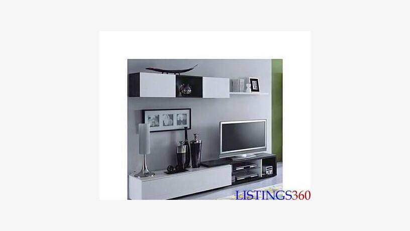 naia salon meuble tv 240 cm gris