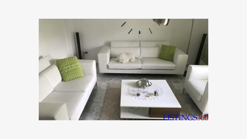 a vendre salon en blanc meuble tele