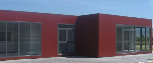 panel sandwich metálico para fachadas