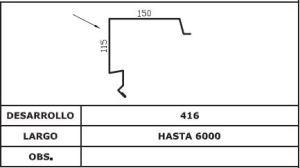 Diseño coronación lateral AIS TAP 3G 5G