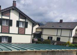 Sustitucion de cubierta antigua por nuestro panel sandwich metalico tejado